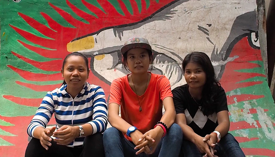 Female Skaters of Cambodia