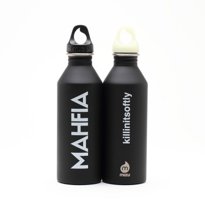 Mahfia x Mizu Water Bottle (black)