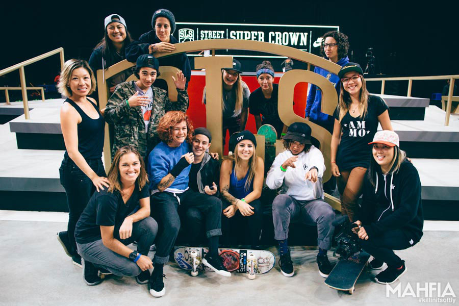 The Women of Street League | photo by Nam-Chi Van