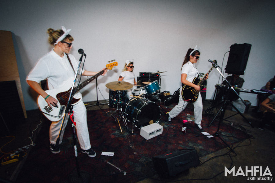 Bay Area Girls Rock Camp Halloween Benefit Show