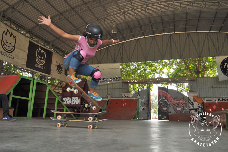 Nhoen, Skater + Full Time Staff at Skateistan Cambodia