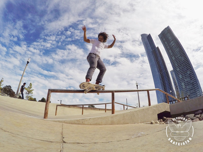 Citizens of Skateistan: Samarria Brevard | Photo by Mimi Knoop