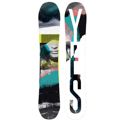 "Helen Schettini x YES ""Hel Yes"" Snowboard"