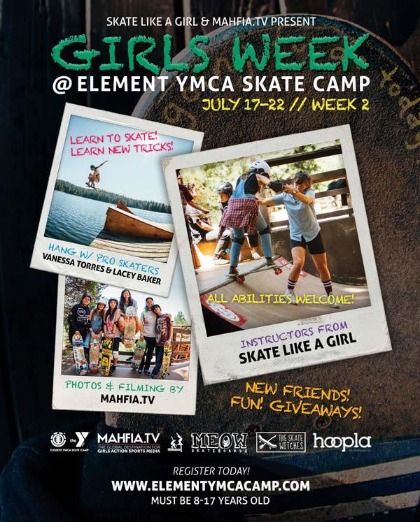 Event - Element Girls Week Skate Camp