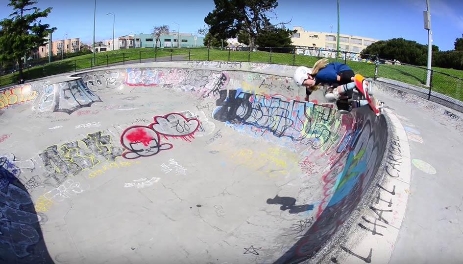 FI - Skate - Zoe Safanda 2016 Part1
