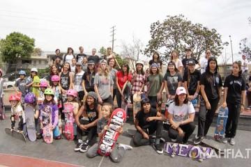 [Skate] LA Girls Session at Stoner Plaza