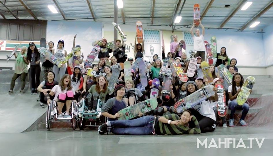 FI - Girls Skate La Berrics Session