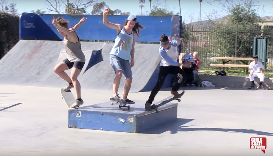 FI - girls skate network - ladies skate house