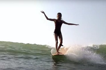 [Surf] Kassia Meador & Kelia Moniz in Hainan Island, China