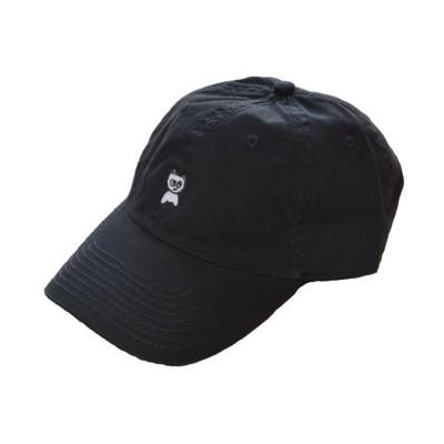Meow Skateboards Unstructured Hat Black