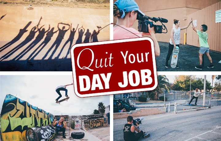 Longboard Girls Crew Quit Your Day Job Channel  Day Job