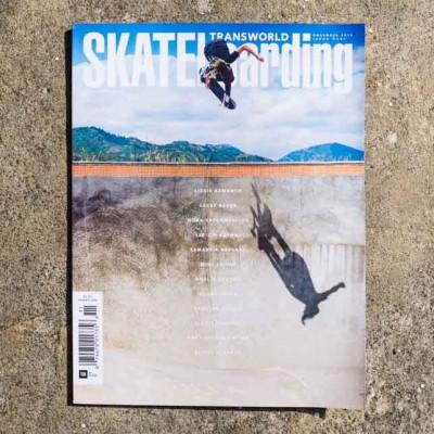Transworld Skateboarding November 2016 Issue – Cover Lizzie Armanto