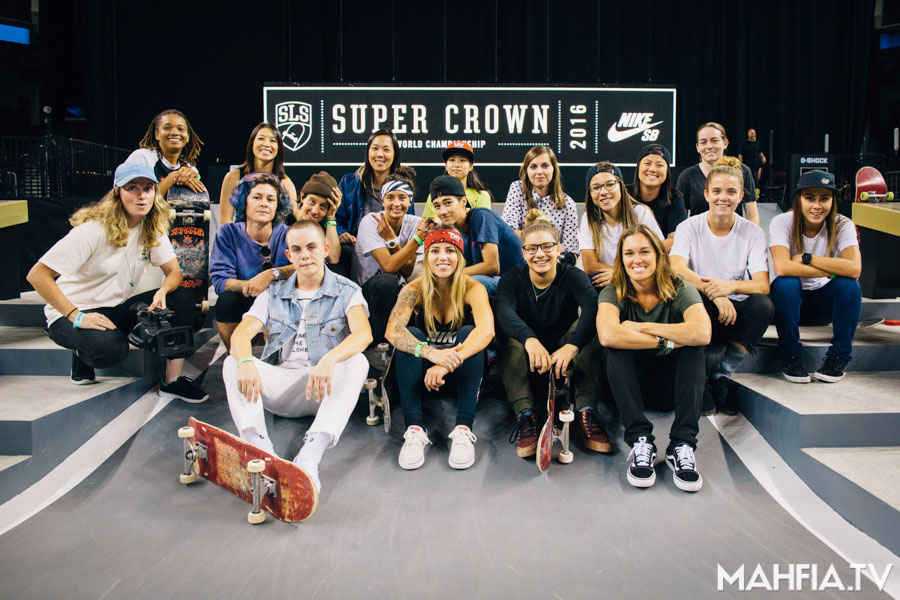 2016 SLS Nike SB Super Crown Women's Division