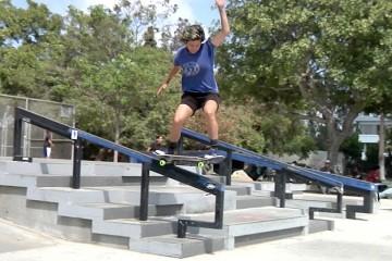 [Skate] Gilbert Lindsay Plaza Session