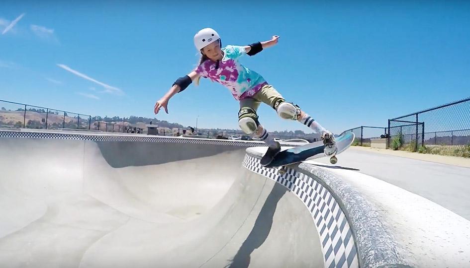 [Skate] Zoe Safanda - 2016 Part 2