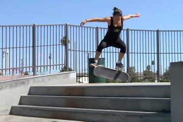 [Skate] Courtney Akita, Alishia Stevens, and Arianna Carmona at Peak and Peck Skatepark