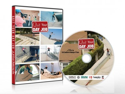 """Quit Your Day Job"" All Female Skateboarding Film DVD"