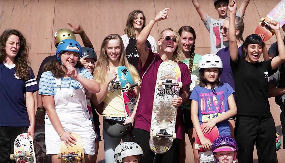[Skate] Girls Week at Woodward 2016
