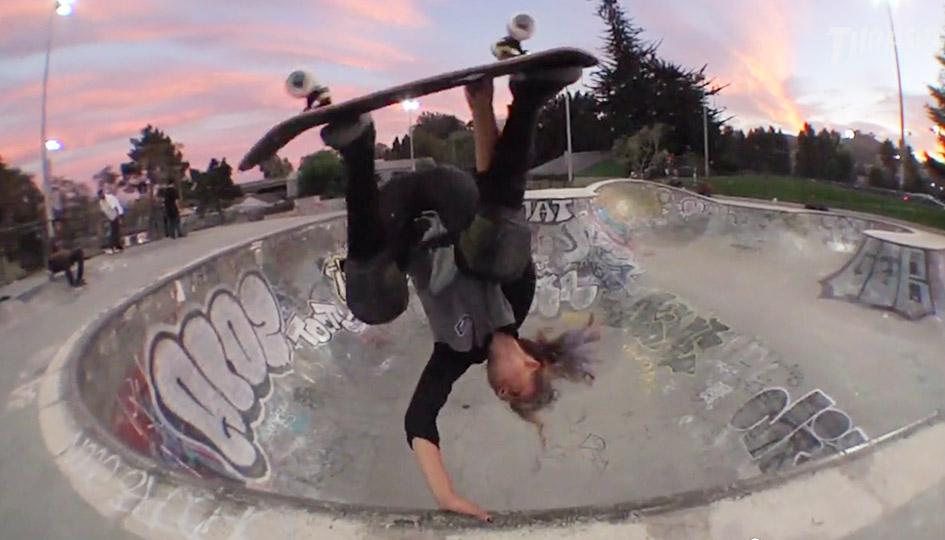 """[Skate] Lizzie Armanto - """"Fire"""" Part"""