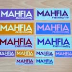 Mahfia Stickers Color