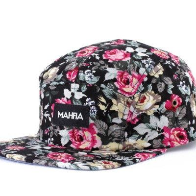 Mahfia Five Panel Hat Floral
