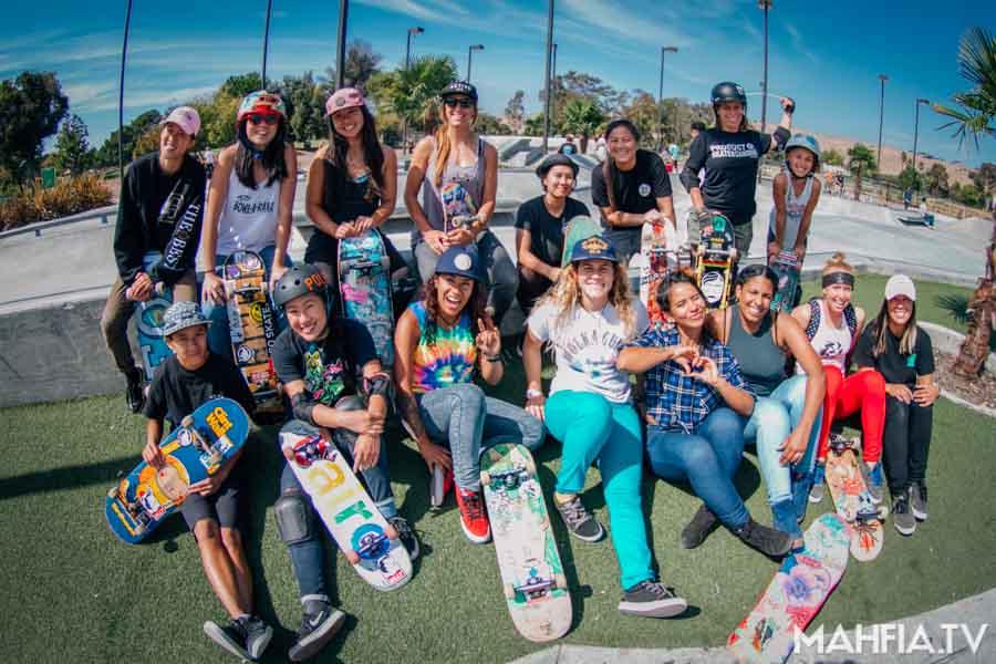 Bay Area Girls Skate Sessions | MAHFIA TV